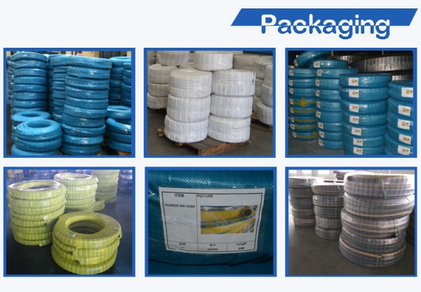Pressure Testing Hose Packaging