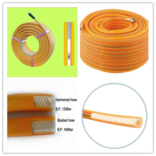 pvc-spray-hose construction